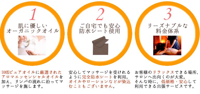 東京出張マッサージ店ビビアン東京は、清楚、可愛い、美人の女性セラピストが3つのGOODを基本にマッサージを行います。